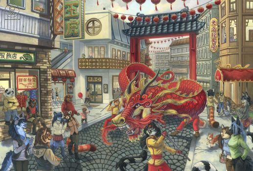 Dragon Dance by KaceyM