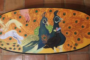 Aesop's Fable Table Painting by morisa9