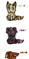 January puppy adoptables! -CLOSED- by Afna2ooo