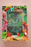 Ponyo Picture Frame by AngelicLight100