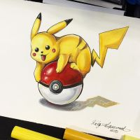 264- Pikachu by Lucky978