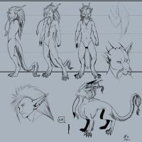 Avalore ref sheet -ink by JaktheDrox