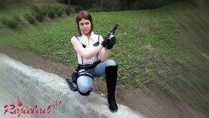 Jill Valentine RE1 STARS arrange mode outfit IX by Rejiclad