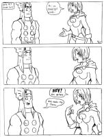 Thors Magical Mystery Date 7 by TheMonkeyYOUWant