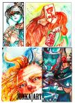 Watercolor sketches - Dota 2 by JunKazama15