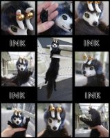 Ink - Softmount Pelt Doll by The-F0X