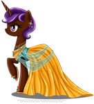 Commission - Gala Dress for Eliyora by selinmarsou