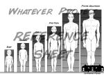 Male Age and Hieght Chart by TheWhateverProject