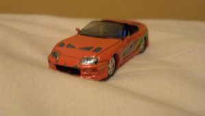 The Fast and The Furious Brian's Supra by benracer