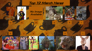 Top 12 March Hares by JJHatter