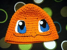 Crochet Charmander Hat Beanie by CodiBooher