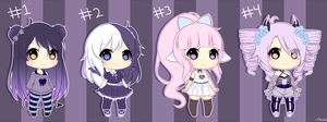 Pastel Goth Adopt Auction - #3 AVAILABLE ONLY by Tassy-Chu