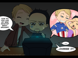 Avengers:: The net is an awesome place by Pelissa