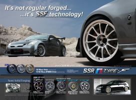 SSR Type-F Ad - 350z by dkim1985