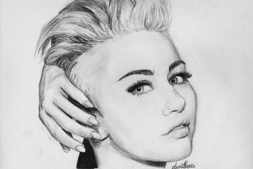 Miley Cyrus by Bluecknight
