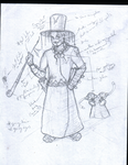 The Old Apothecary sketch by rapxic