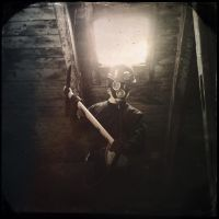 Harry Warden in his mine by DoNotTouchMyPickaxe