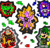 Count blecks baddies by Nintendrawer