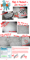 Draw Mudkip in 20 Minutes by Cannibal-Cartoonist