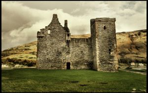 Lochranza Castle by IoannisCleary