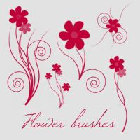 Flower brushes by camilla917