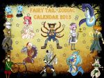 Calendar Cover 2013 Medieval Style by narcyzus