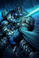 Arthas Lich King by SiriusSteve