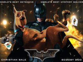 Batman and Scooby Doo by mattbyles