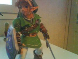 Adult Link Papercraft 2 by killero94