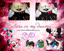 Believe in my dreams.PSD by OriginalPsd