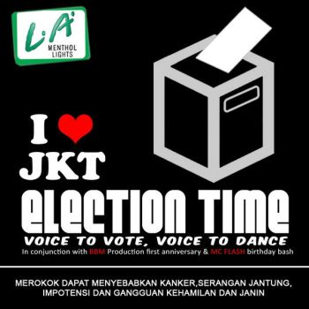 i love jkt election time by penry