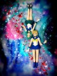 Sailor Uranus and Sailor Neptune by KMJPhotoGalleria