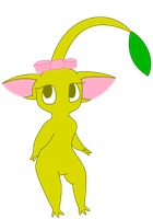 Ella the Yellow Pikmin by pikminyellow