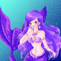 Purple Mermaid - Karen by ElyNeige