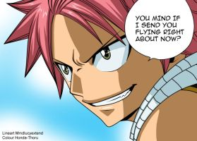 Fairy tail chapter 309 natsu dragneel -colour-. by Honda-Thoru
