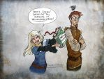 Runewriters for Shazzbaa by Lelenia