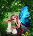 Spring fairy by martine8719