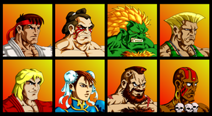 Street Fighter 2 by droxus7