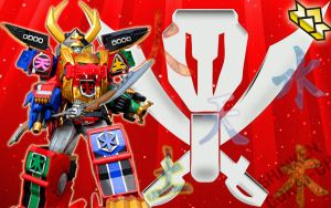Shinken Gokai-Oh by blakehunter