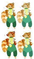 Color Options For Tiger Sona Poll by Hauket