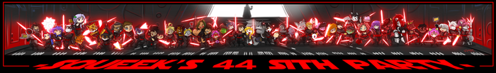 Squeek's Sith Line Up 44 Finished by ShoNuff44