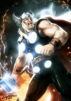 Thor by EspenG