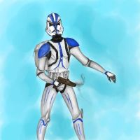 Star Wars - Clone trooper by EletricDaisy