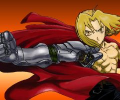 Edward Elric by IgnacioSanDesign