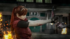 Zombie Attack! - Claire Redfield by CarlaGolbat