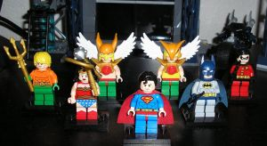 Lego Justice League by TheWarsman