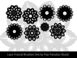 Lace Fractal Brushes by Fea-Fanuilos-Stock