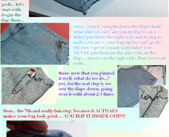 big sewing tutorial by kaellie