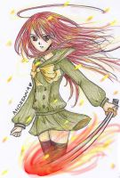 Shakugan no Shana by Andrenna