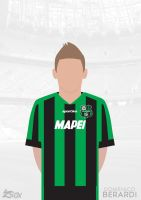 Domenico Berardi Vector by Ziox-D